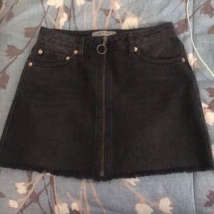 Free People Black Mini Skirt NWOT Size 24